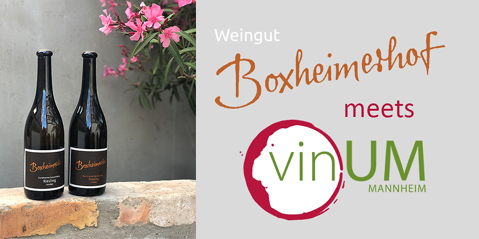 Online-Weinprobe mit dem Boxheimerhof
