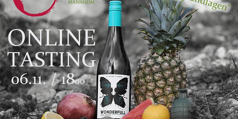 Weingrundlagenseminar und Online-Weinprobe mit Christopher Full