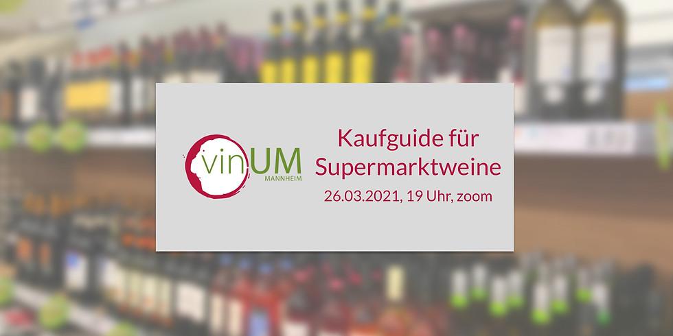 Kaufguide für Supermarkt-Weine
