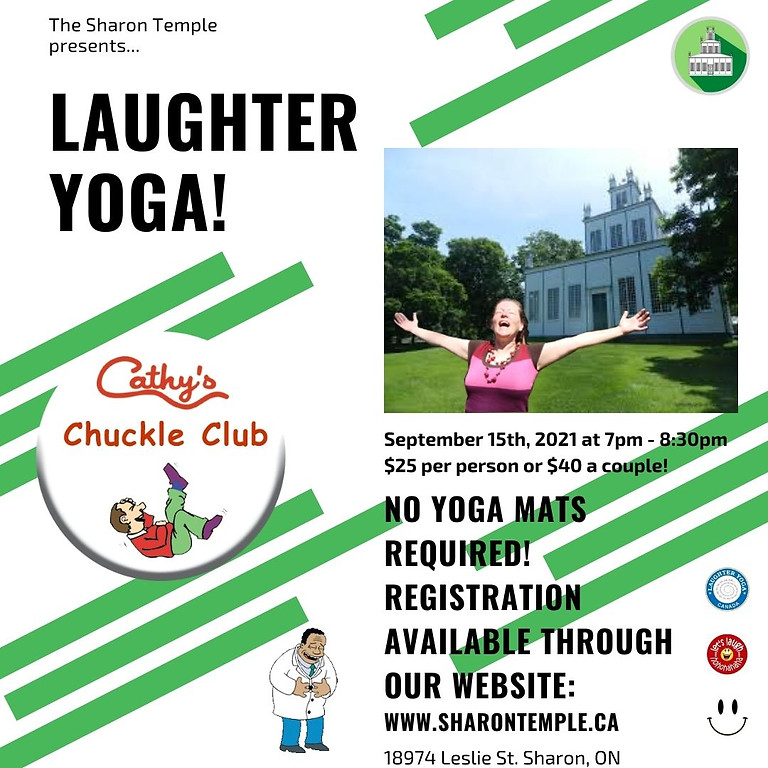 Laughter Yoga in the Temple