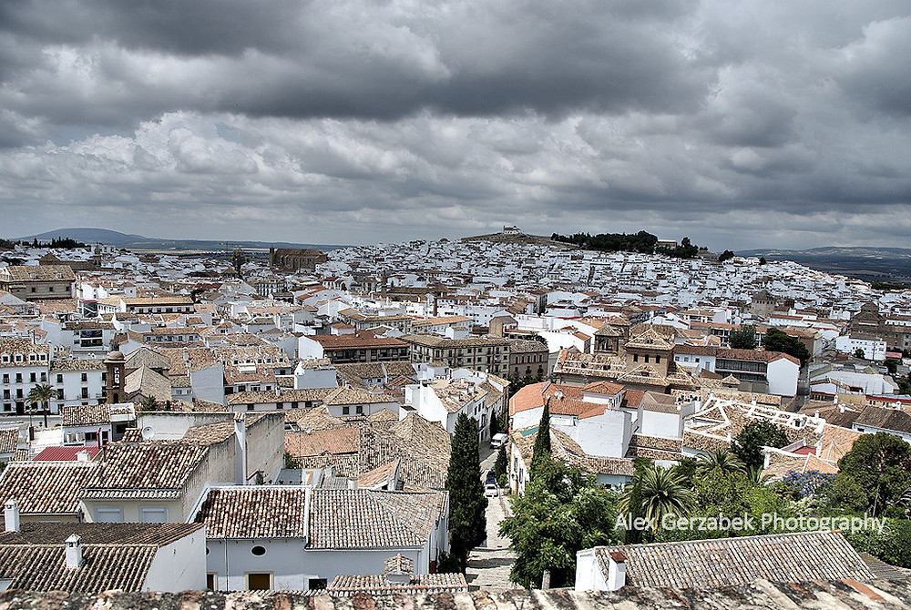 über den Dächern von Antequera