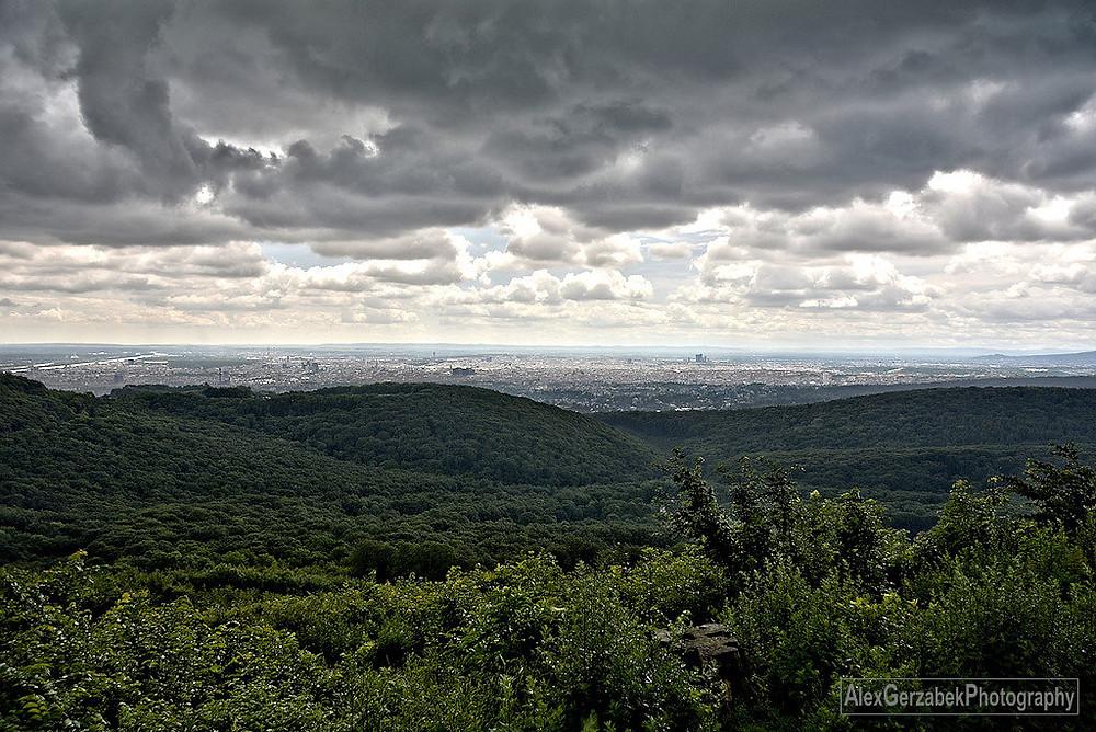 Ausblick oberhalb Jägerwiese