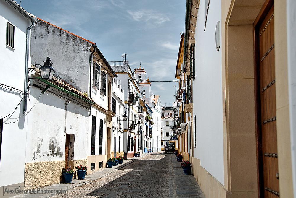 typisches Straßenbild in Córdoba