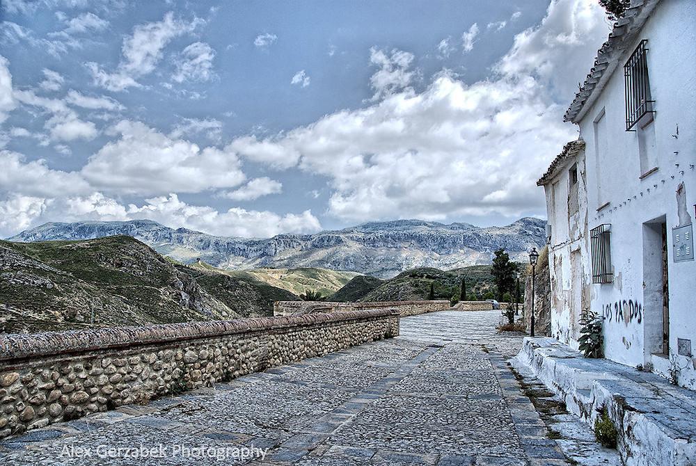 Blick nach Süden zum El Torcal