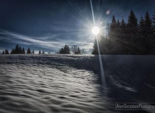 Heuberg im Winter