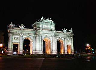 Ein Abendspaziergang durch Madrid