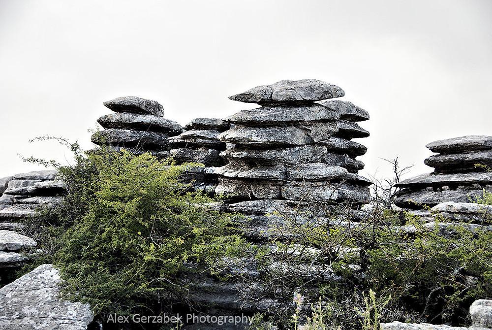 Steinplatten im El Torcal