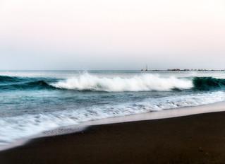 Am Strand von Malaga