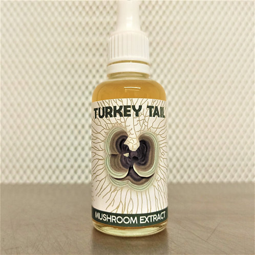 Turkey Tail Dual Extract Tincture
