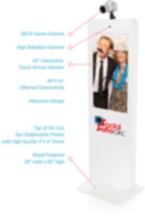 Social Selfie OKC Photobooth Features