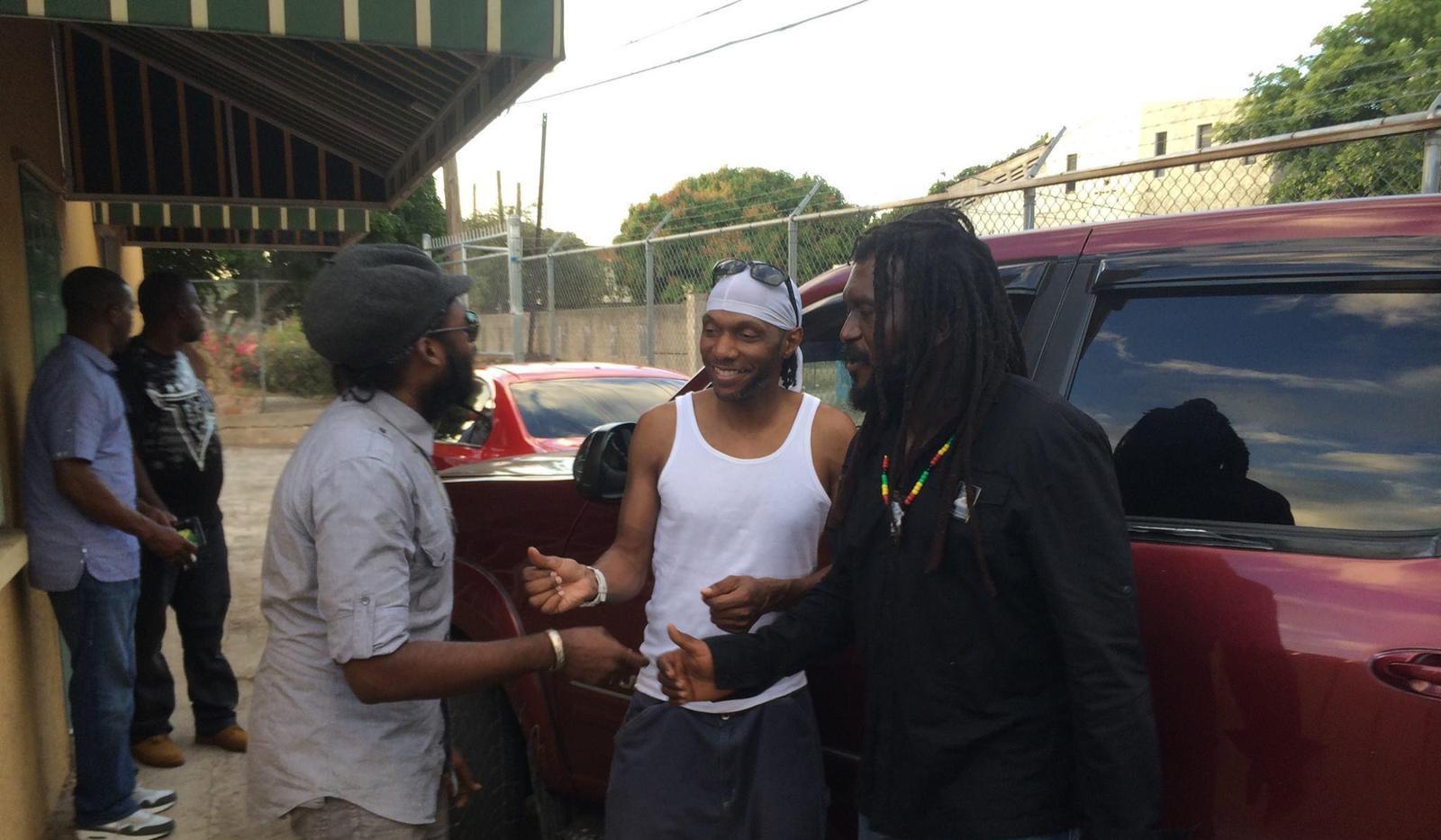 Seanie T & Chezidek, Tarrus Riley, Kinston Jamaica 2015