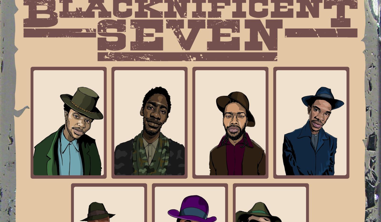 Ere comes da black single artwork