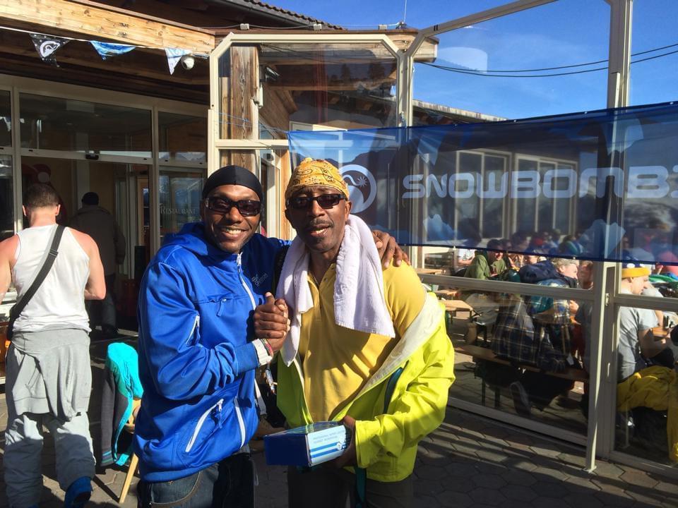 Seanie T & Mr Motivator @ Snow Bombing Festival, Austria 2017