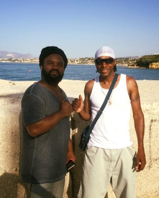 Seanie T & Bassy in Sicily Italy
