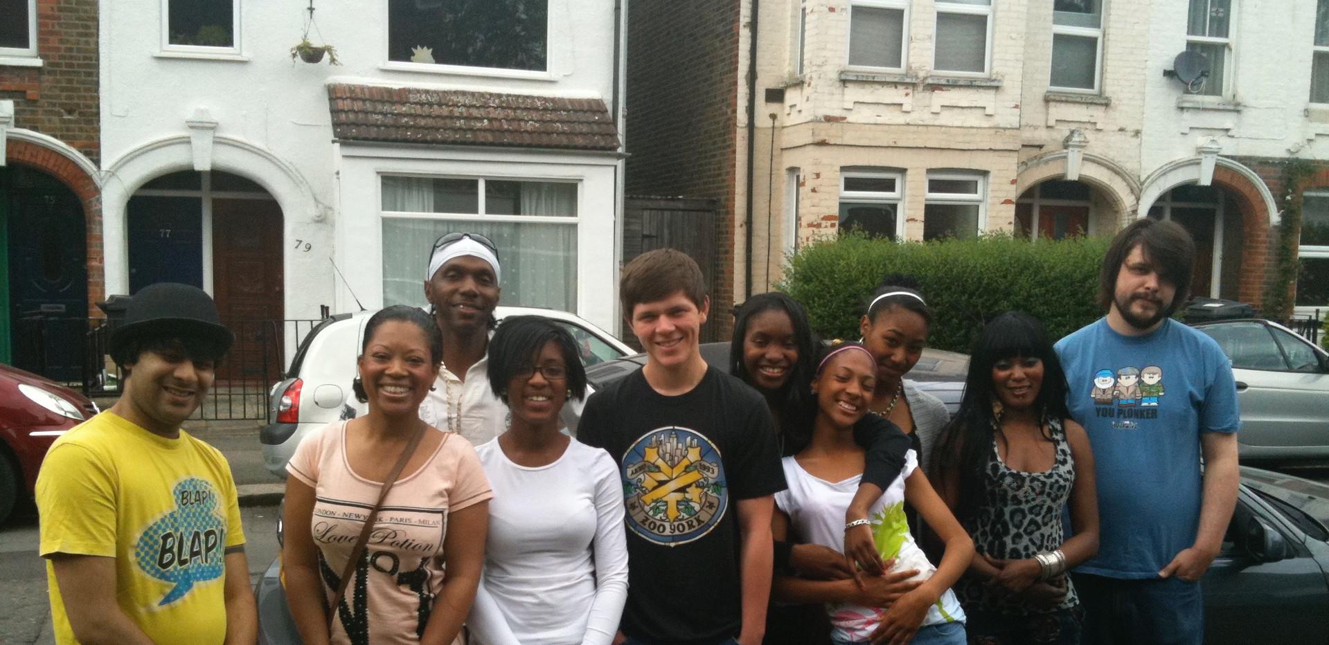 Cast members: Move Ya Shoulder videoshoot 2011