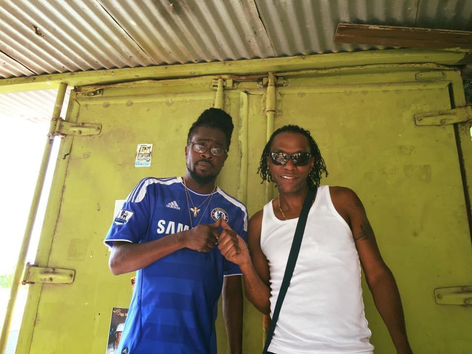 Seanie T & Beenie Man @ Truck Back Studios, Kingston Jamaica
