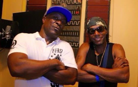 Seanie T & Cutty Ranks in the studio, Kinston jamaica