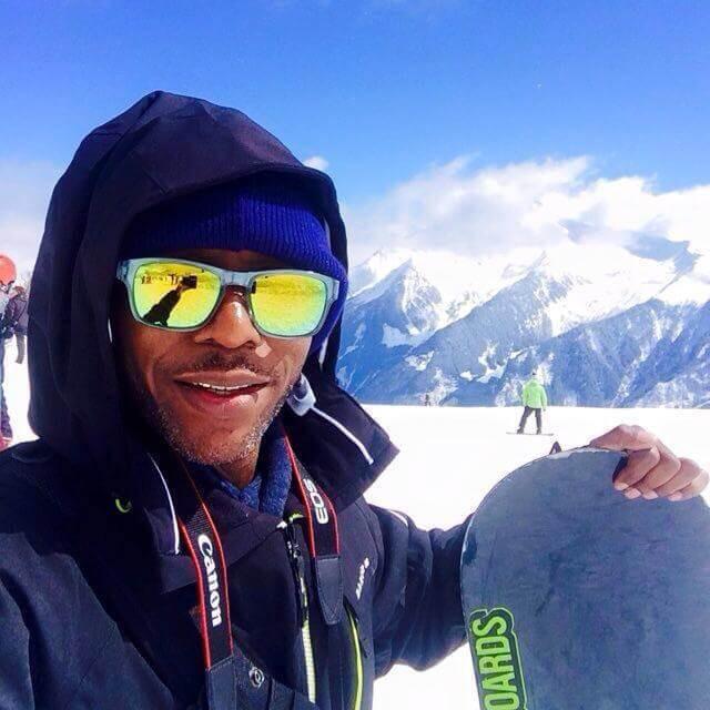 Seanie T in Austria Snowbombing
