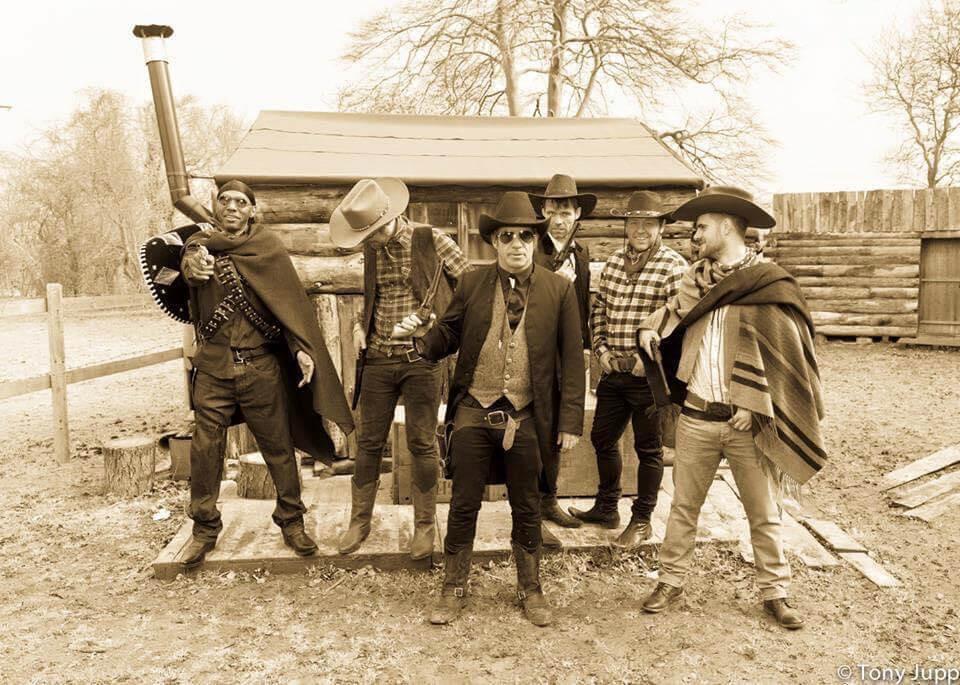 Seanie T& the Dub Pistols, Videoshoot for Pistolaros