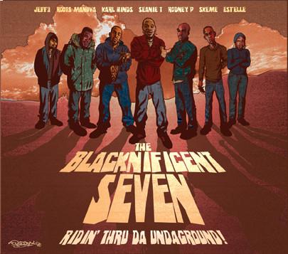 The Blacknificent Seven