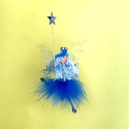 Blue Flittery Fairy