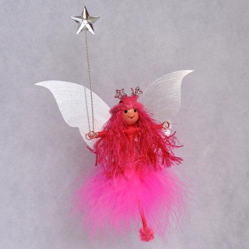 Cerise Pink Flittery Fairy
