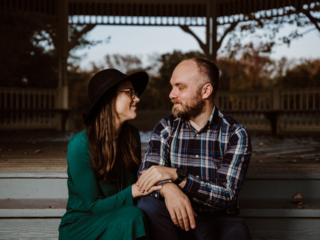 Fall Engagement Session in Annapolis, MD