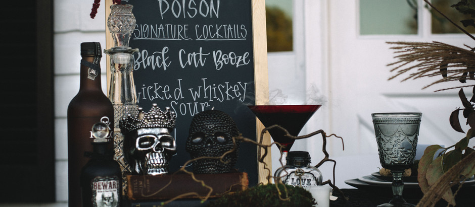 Harwood farms Halloween styled shoot