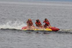 Hot Dogging on Rice Lake Ontario