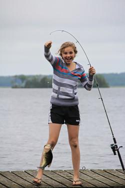 Fishing at Alpine Resort