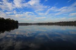 Rice Lake incredibly calm