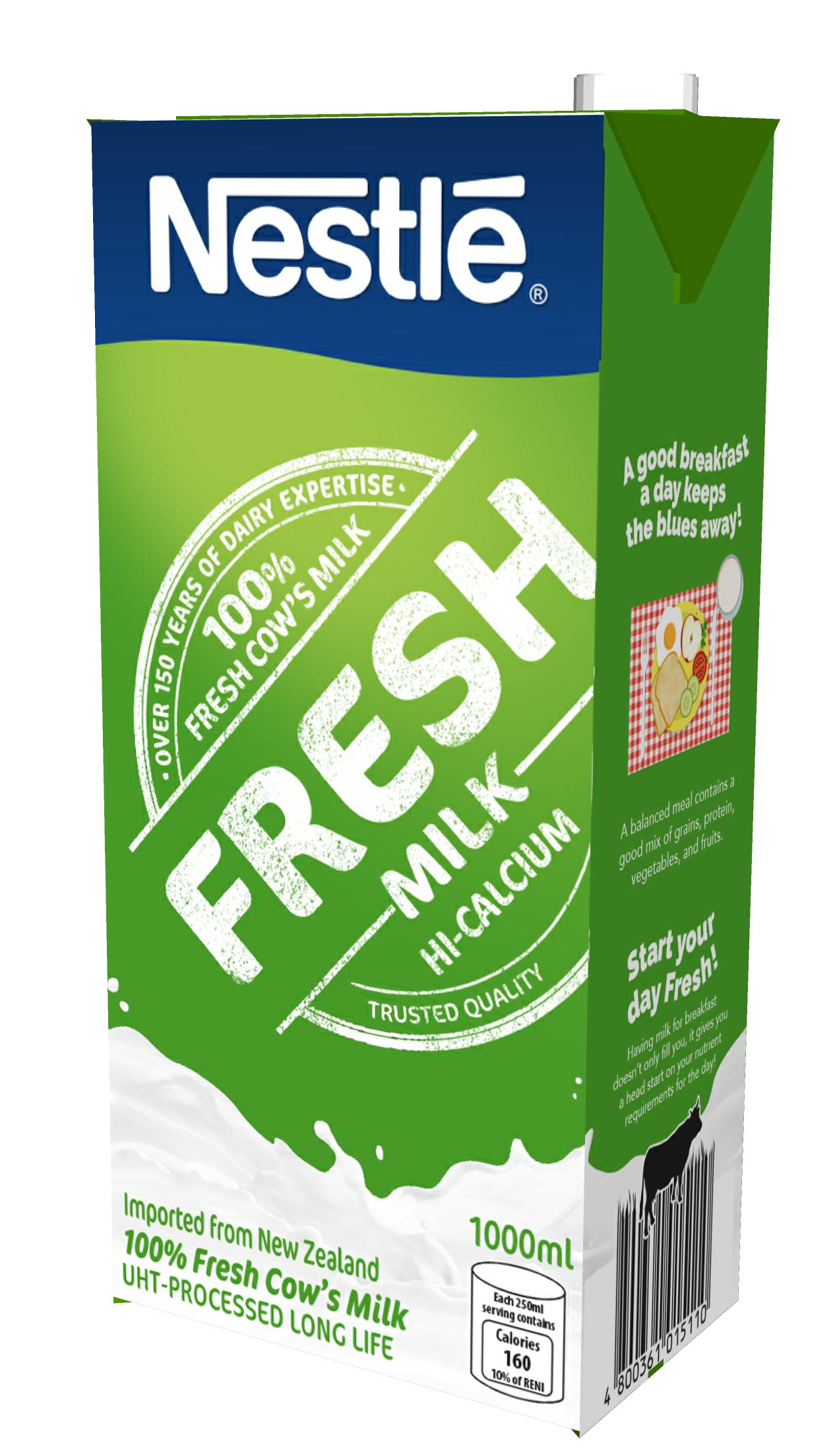 NESTLE FRESH Milk 12 x 1L