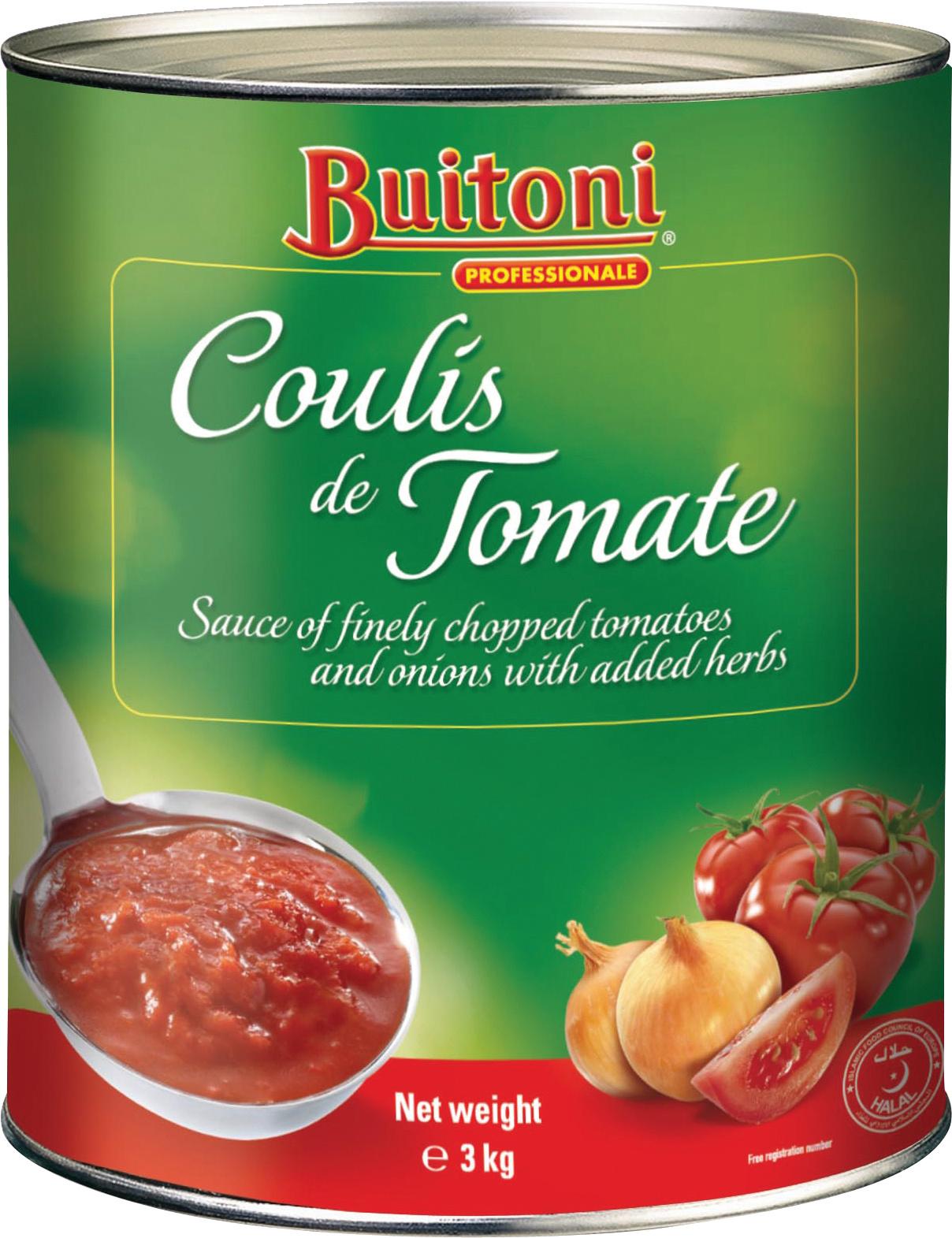 BUITONI Coulis de Tomate 6x3kg