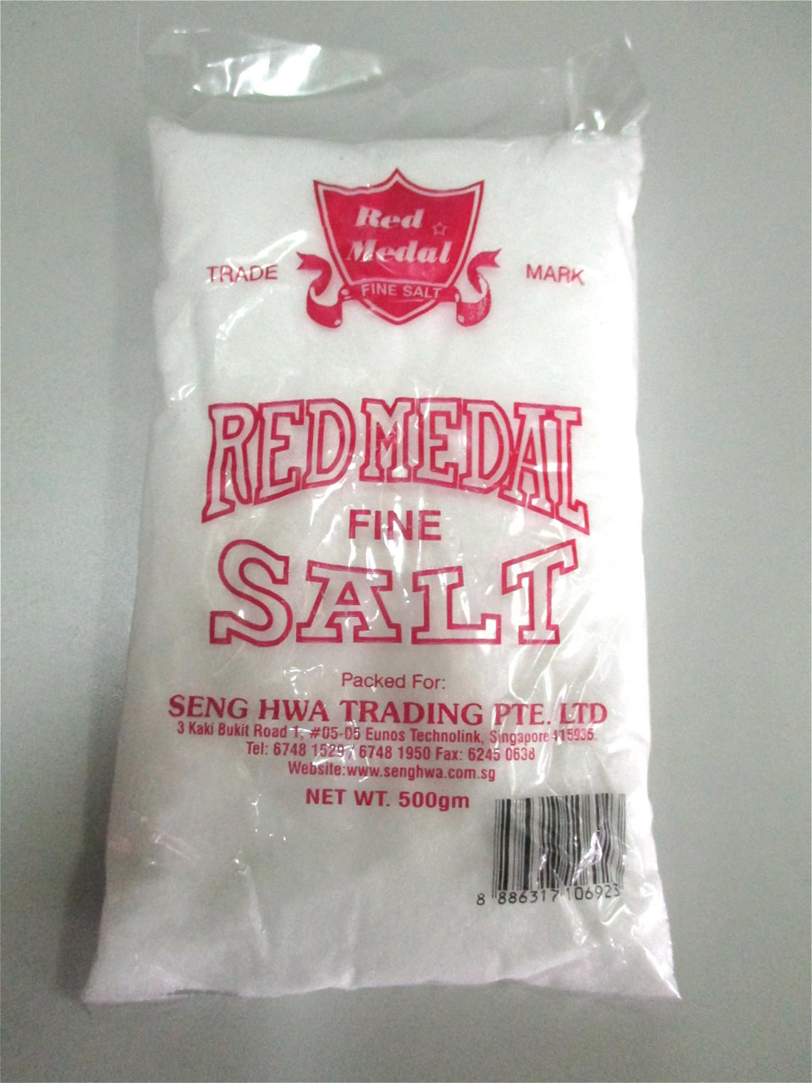 Red Medal Fine Salt (Pkt) 500g