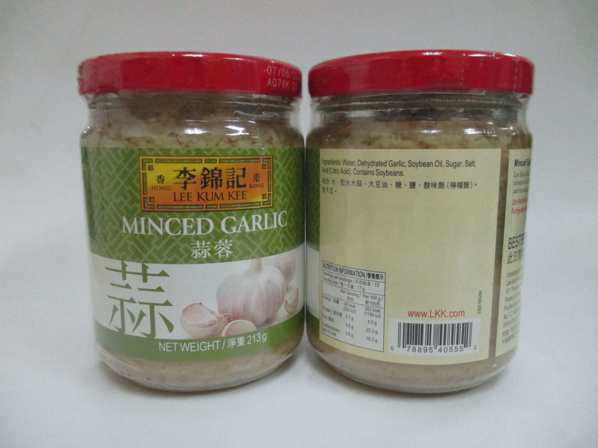 LKK Minced Garlic (12 x 213g) NEW