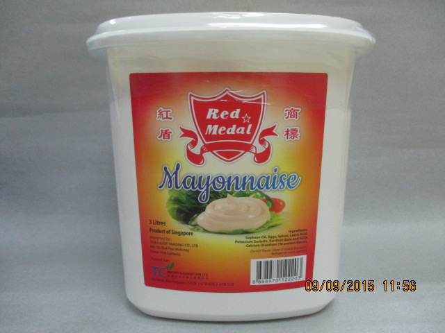 Red Metal Mayonnaise 3Litres