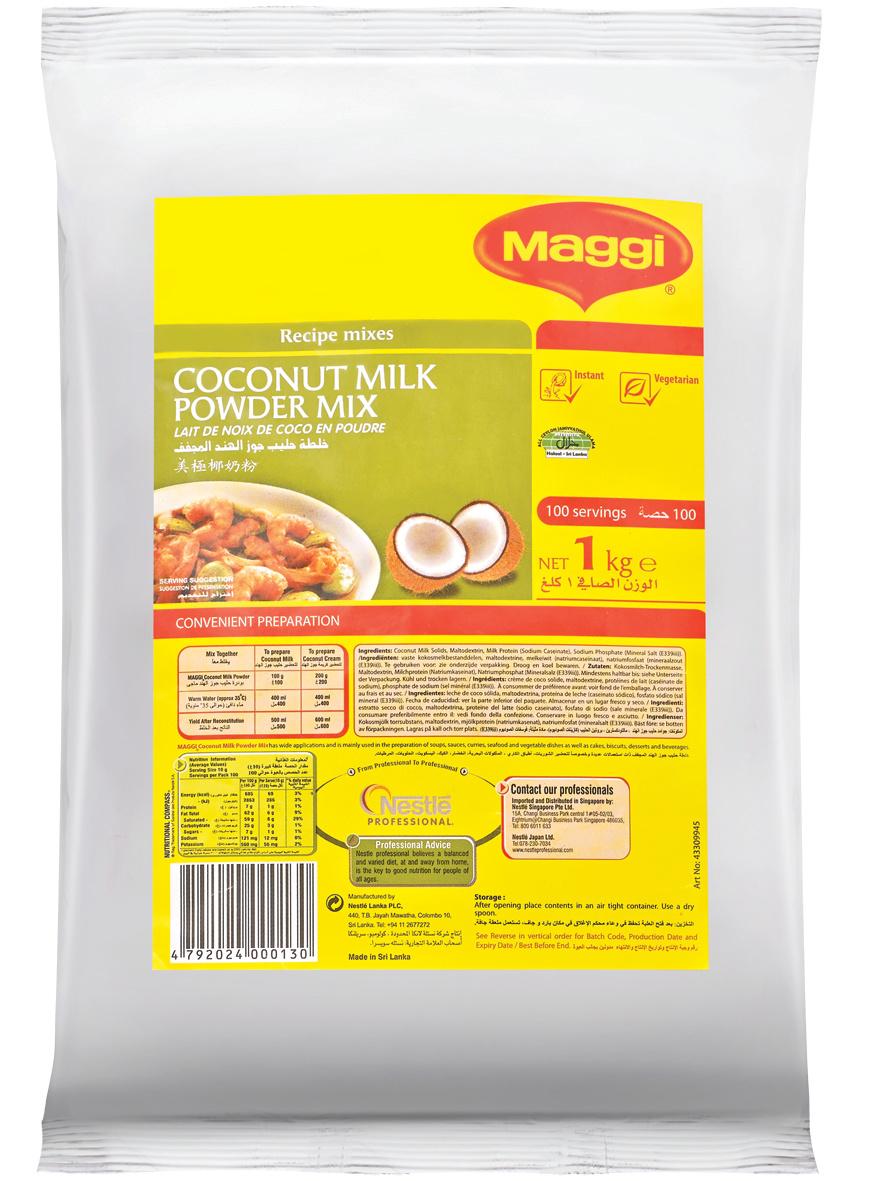 MAGGI Coconut Milk Powder 12x1kg