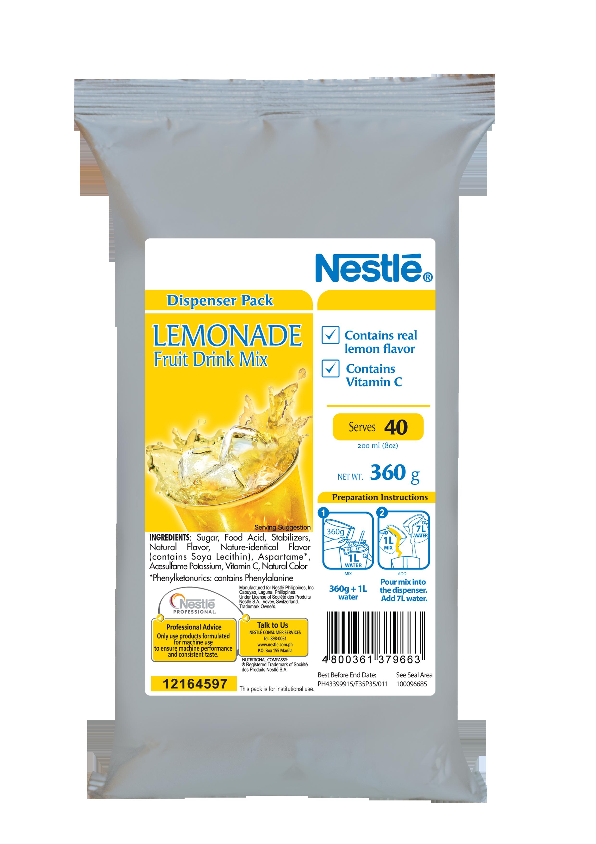 NESTLE NPro Lemonade 12x360g