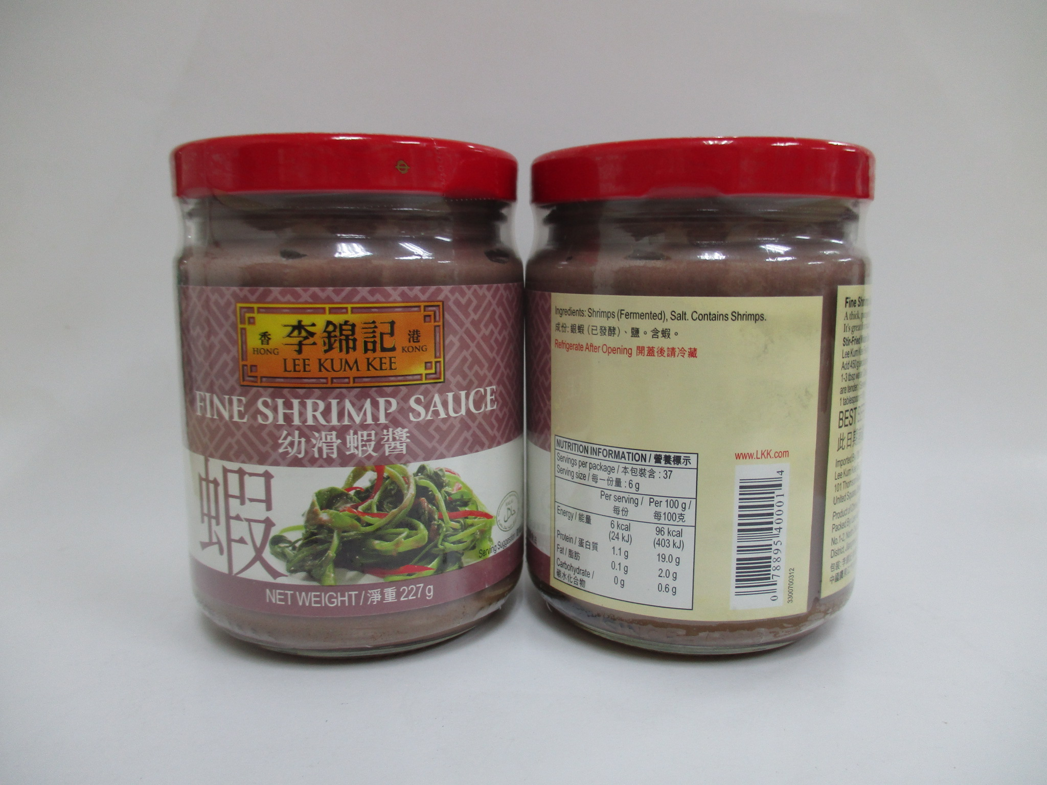LKK Fine Shrimp Sauce (12 x 227g) NEW