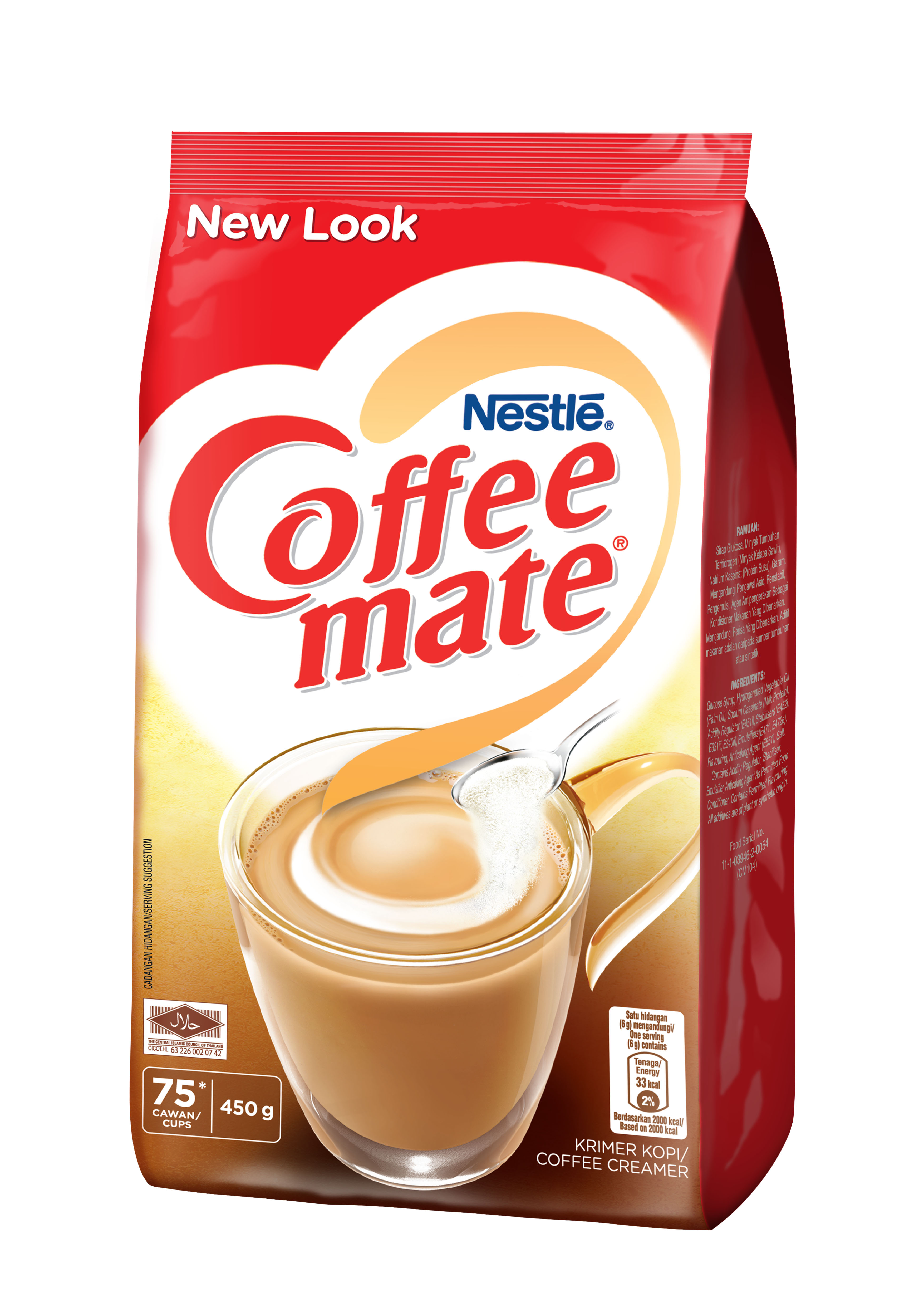 Nestle Coffee-Mate 450g pouch