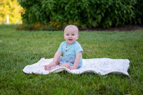 Milestone Cake Smash Photography of One Year Old Toddler Photos