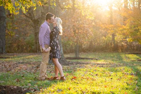 Glenwood Gardens, Glendale, Ohio Couples Photography Session