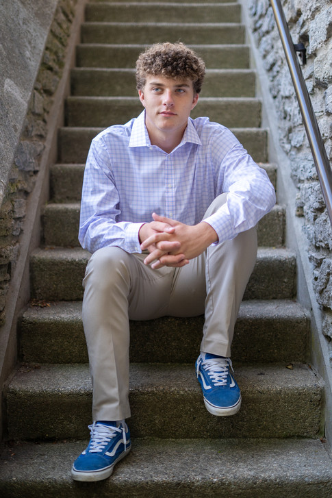Anderson High School Senior Pictures at Alms Park
