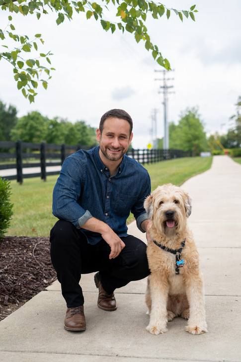 Pet Photography and Headshot Photography Session in Nashville, Tennessee