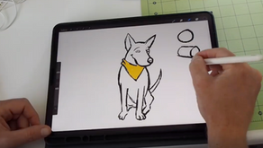 Drawing Cheerio the Dog (Video)