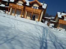 C.K. in the snow