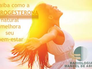 Como a progesterona natural pode melhorar seu bem-estar?