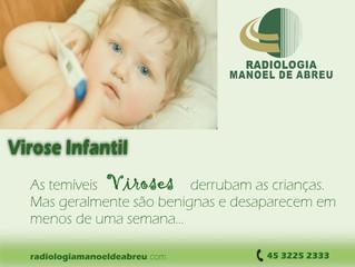 Virose: saiba o que fazer caso seu filho fique doente