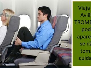Trombose no avião: como prevenir?