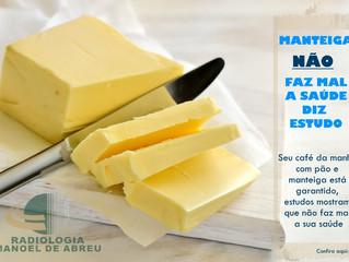 Manteiga não faz mal ao coração, diz estudo